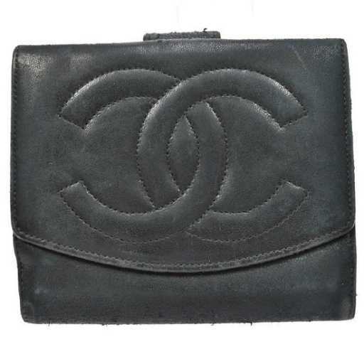 315e2519231d2e Authentic Vintage CHANEL Leather Wallet. placeholder. See Sold Price