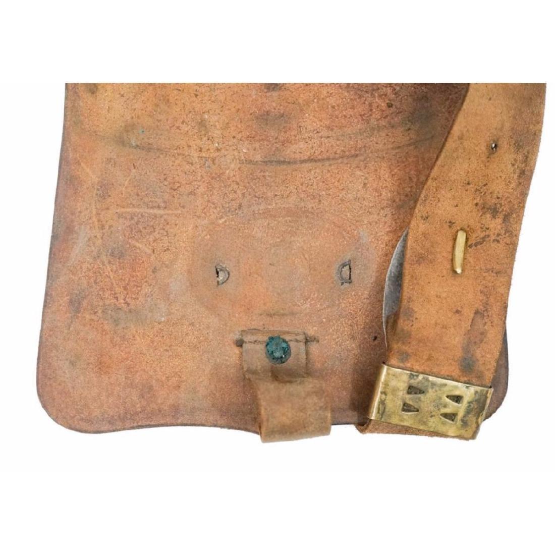 19thc Civil War Indian Wars US Cartridge Box - 3
