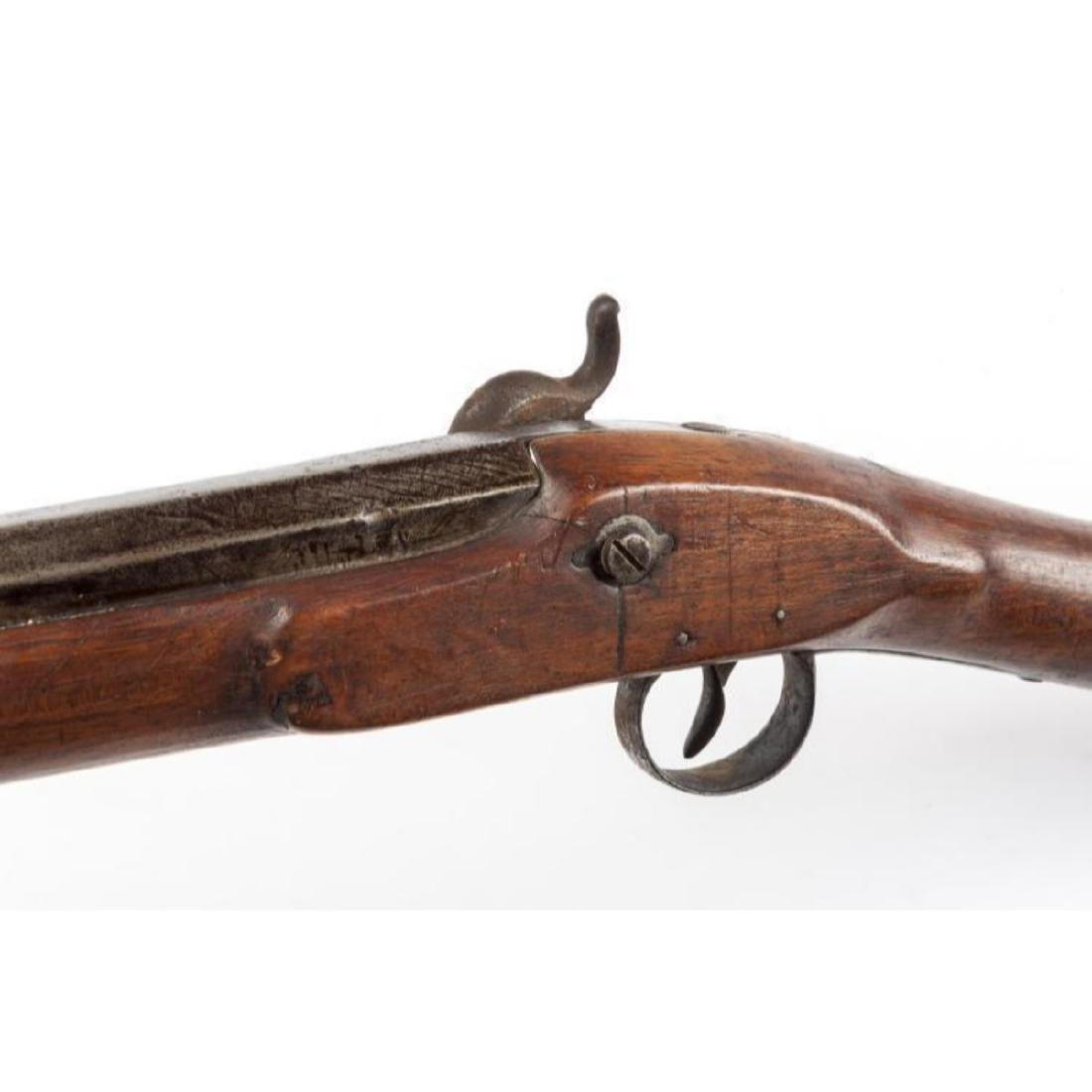 19th C Belgian Percussion Musket - 3