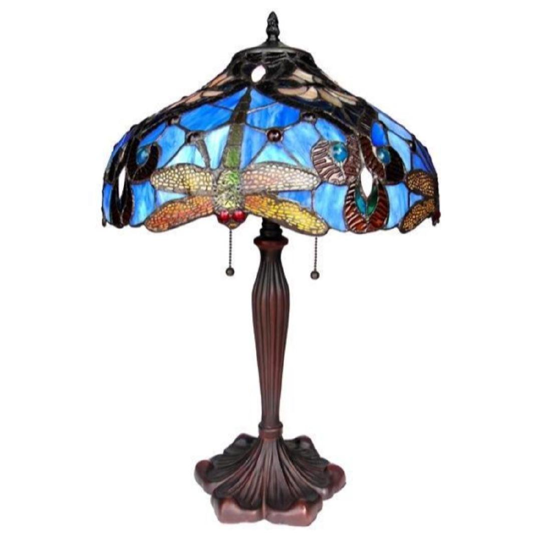 Tiffany-style Table Lamp - 2