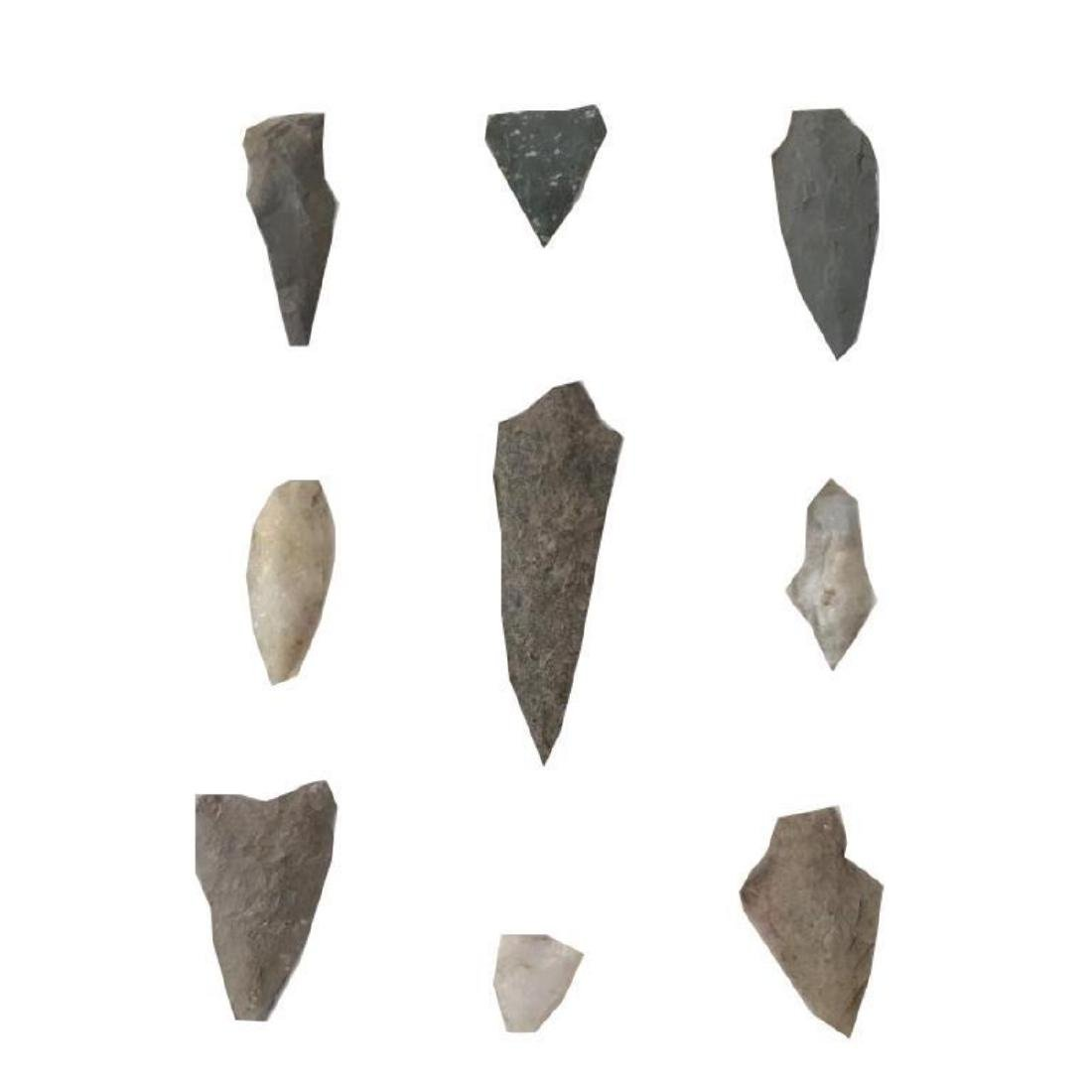 Arrowhead Collection, Native American Points - 2