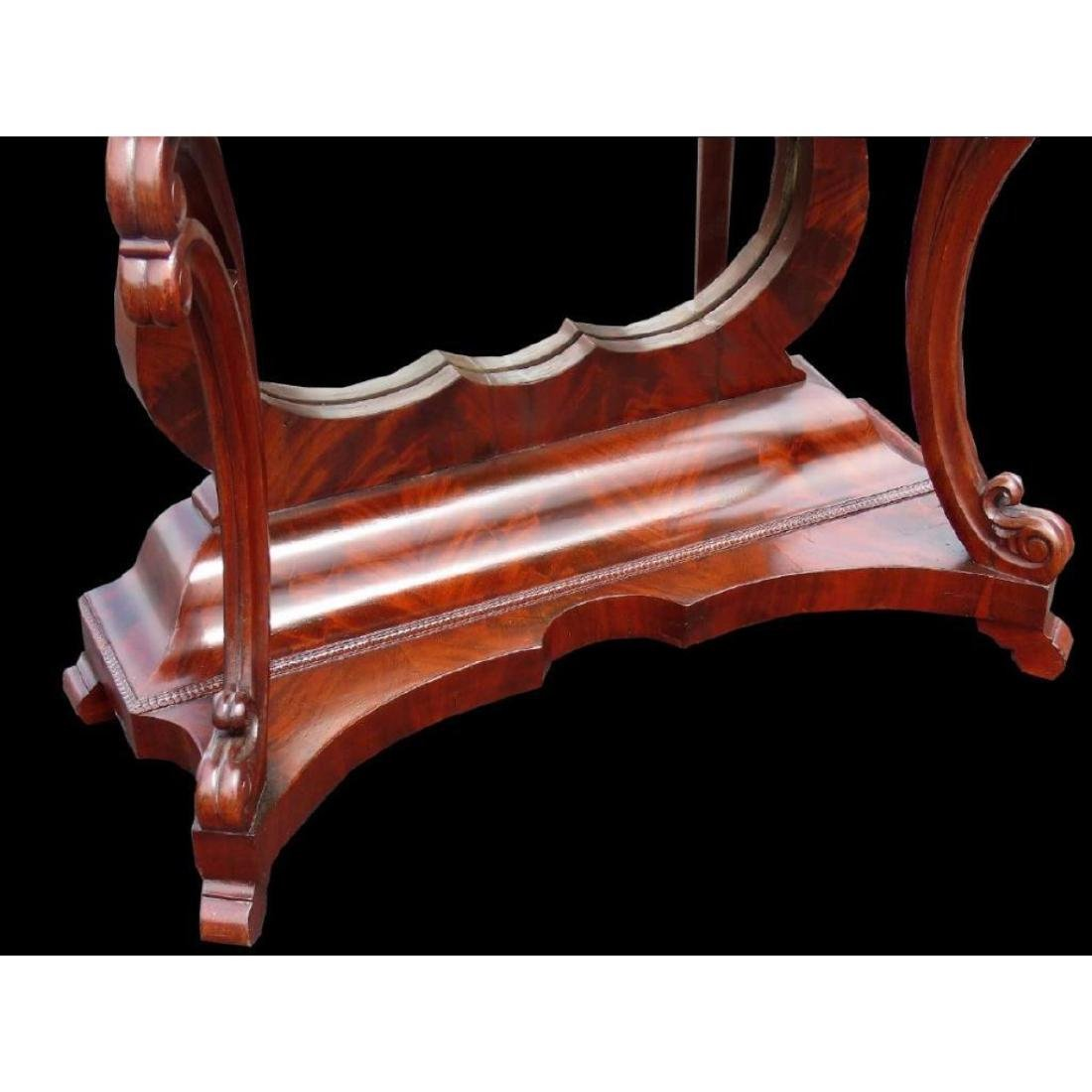 Empire Mahogany Marbletop Console Table - 3