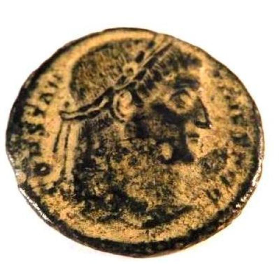 Bronze coin of Constantine I (307-337 A.D.)