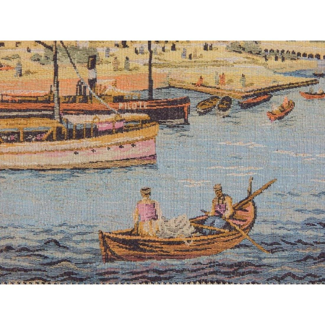 Vintage French Beautiful Tapestry Wall Hanging 58x83cm