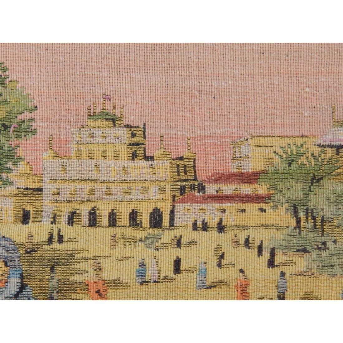 Vintage French Beautiful Tapestry Wall Hanging 58x83cm - 5