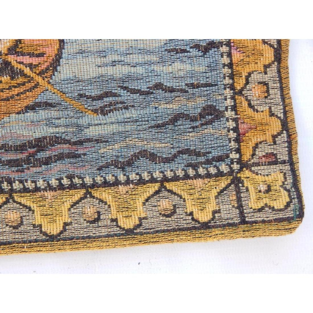 Vintage French Beautiful Tapestry Wall Hanging 58x83cm - 6