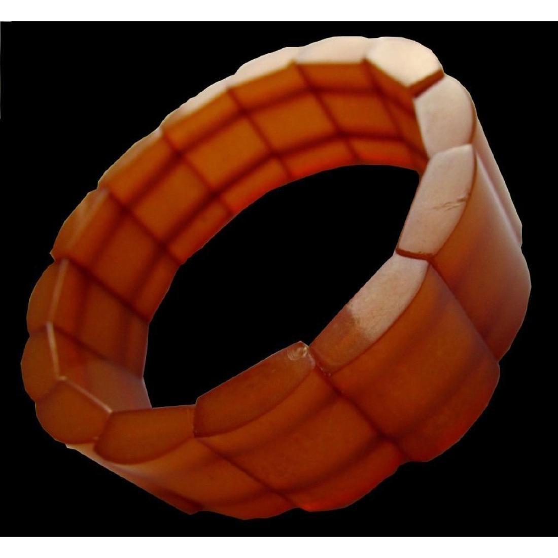 Vintage Baltic Natural Amber Bracelet - 2