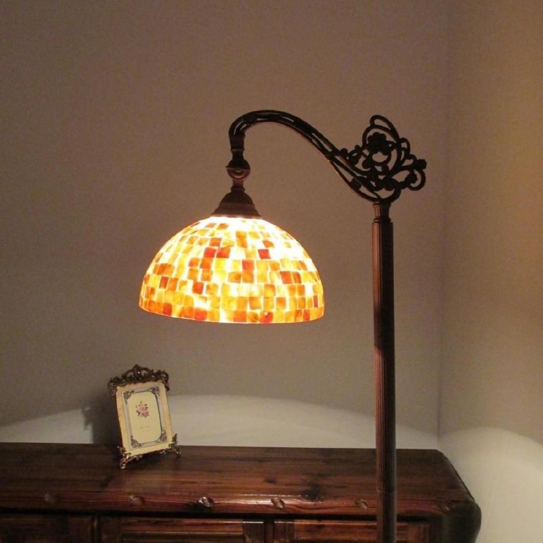 Tiffany-style Reading Floor Lamp