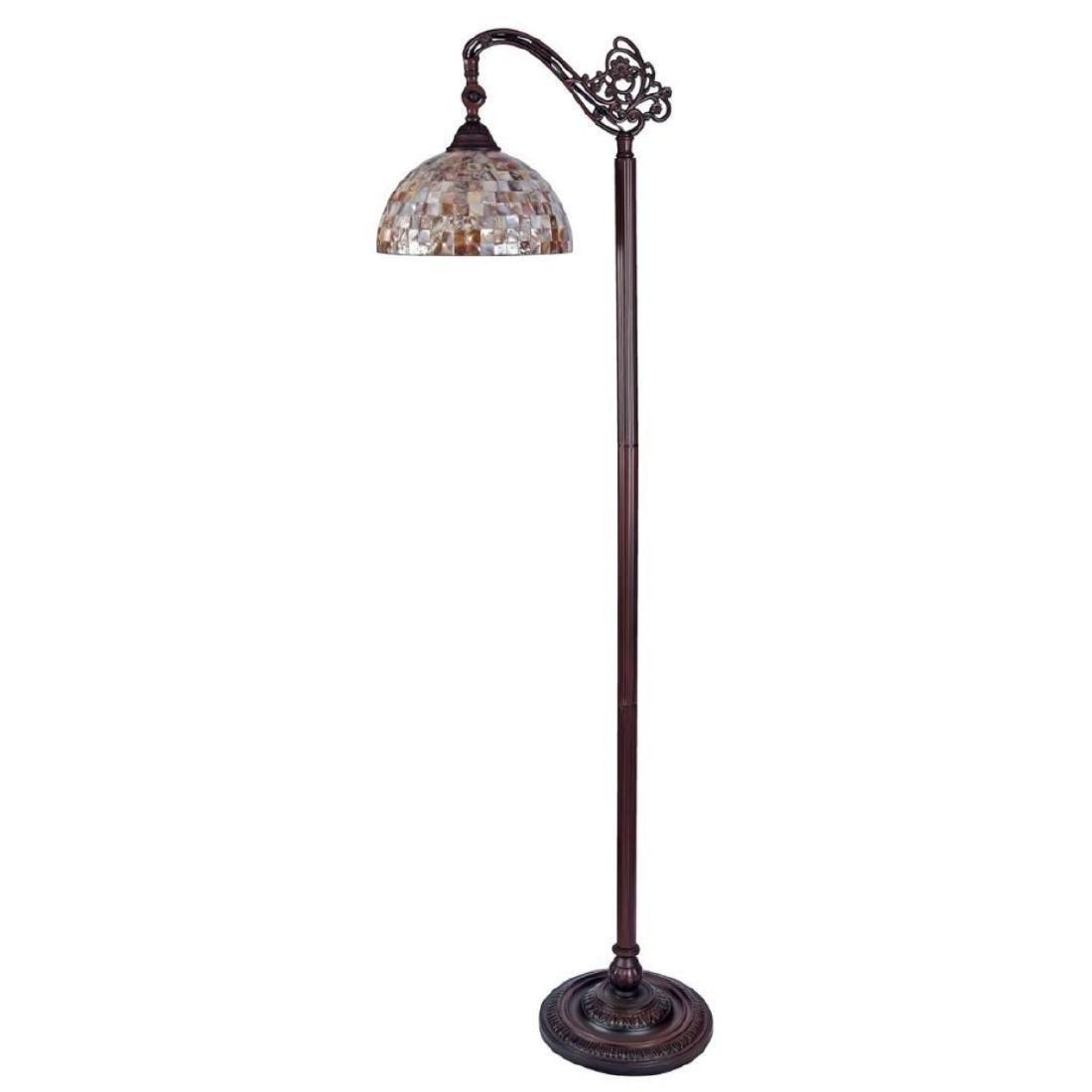 Tiffany-style Reading Floor Lamp - 3