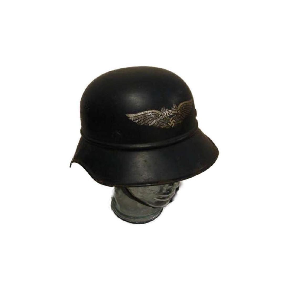 WWII Nazi German Luftschutz Helmet