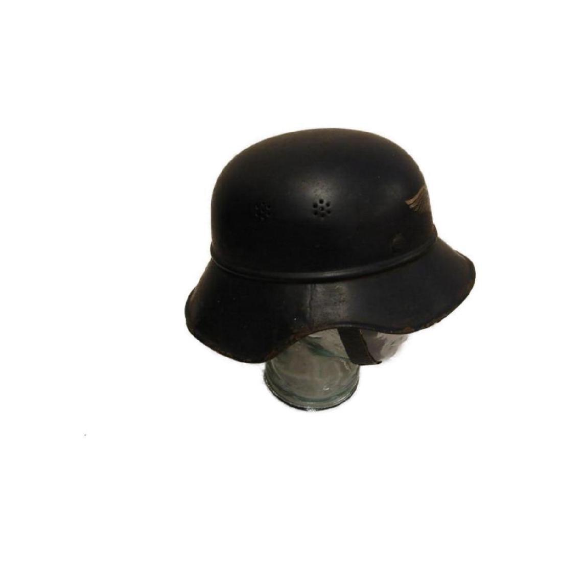 WWII Nazi German Luftschutz Helmet - 2