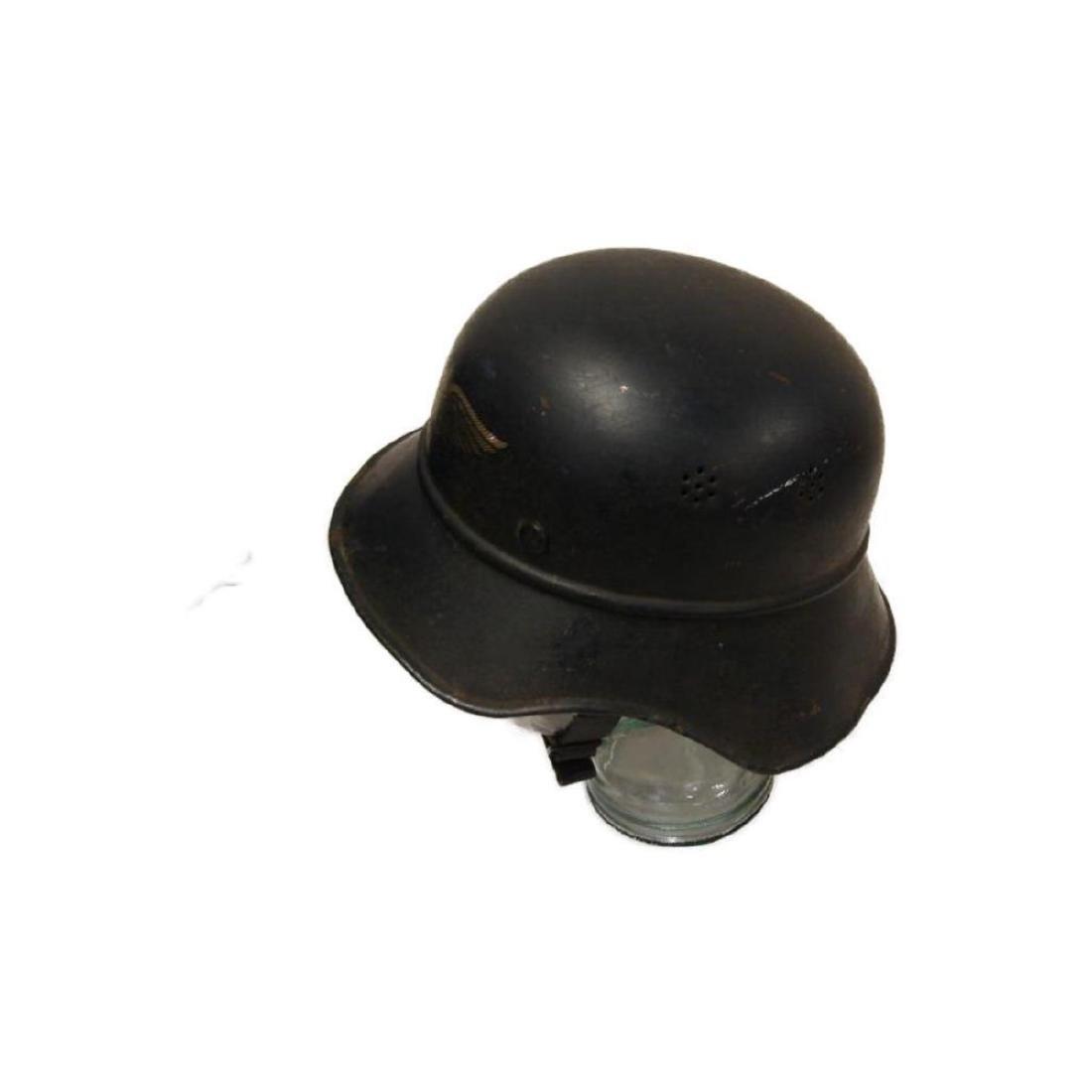 WWII Nazi German Luftschutz Helmet - 6
