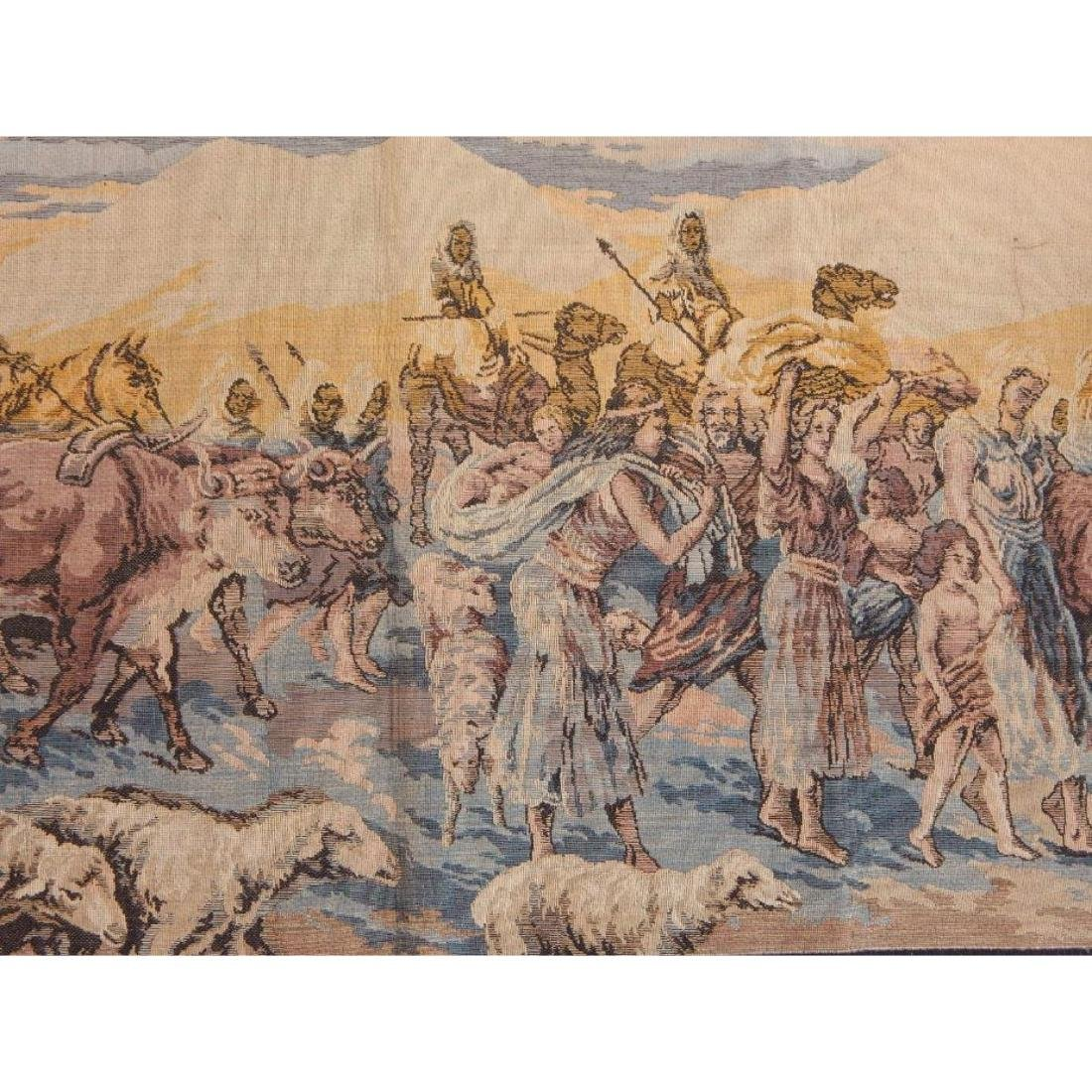 Beautiful, Vintage French Tapestry Wall Hanging 50x95cm - 2