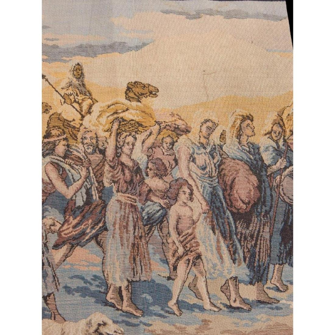 Beautiful, Vintage French Tapestry Wall Hanging 50x95cm - 3