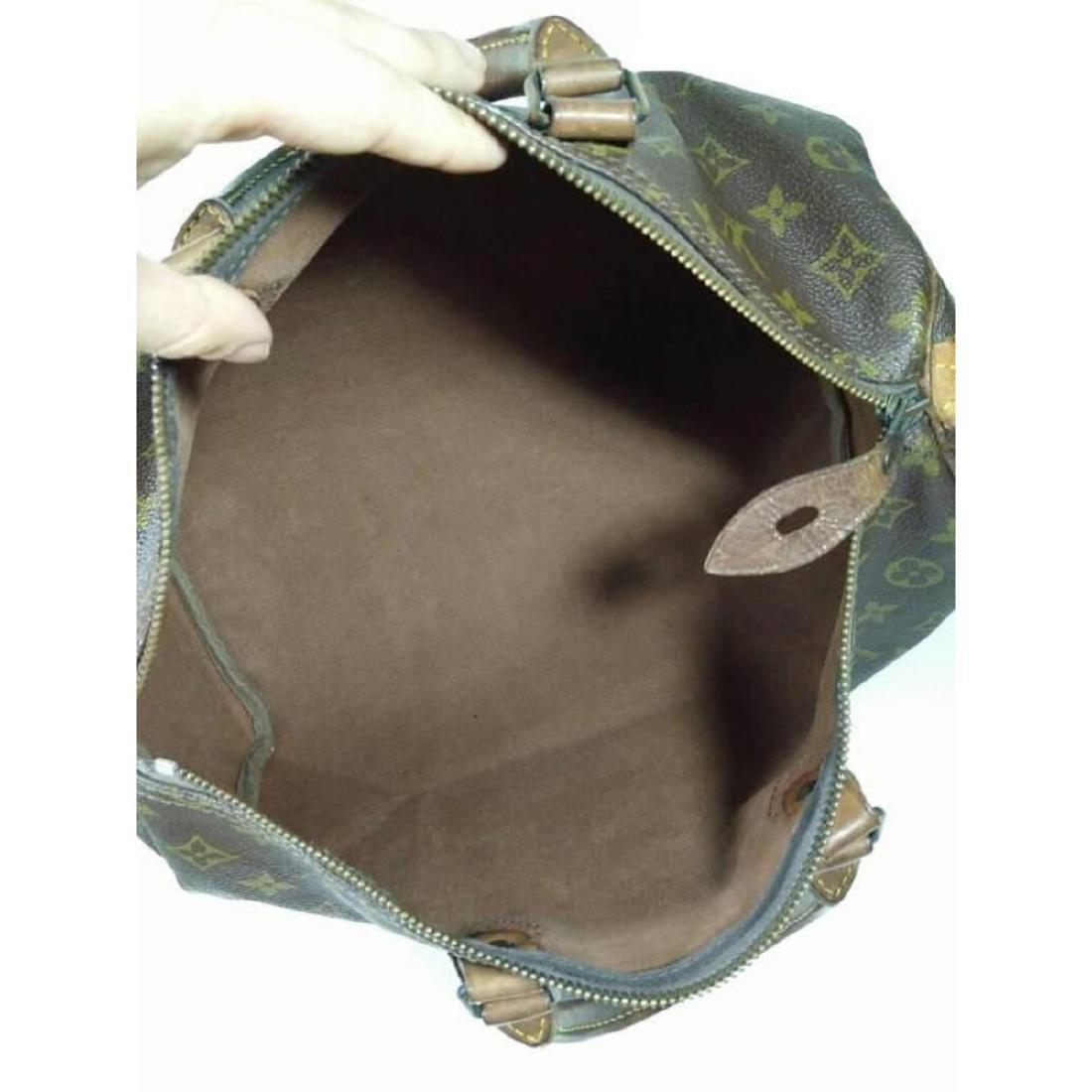 Auth Louis Vuitton Vintage Handbag Speedy 35 Monogram - 2