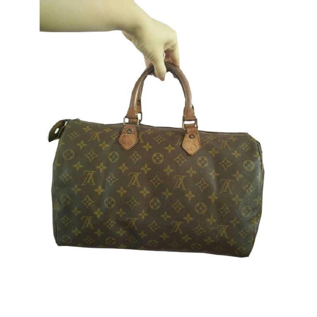 Auth Louis Vuitton Vintage Handbag Speedy 35 Monogram - 3