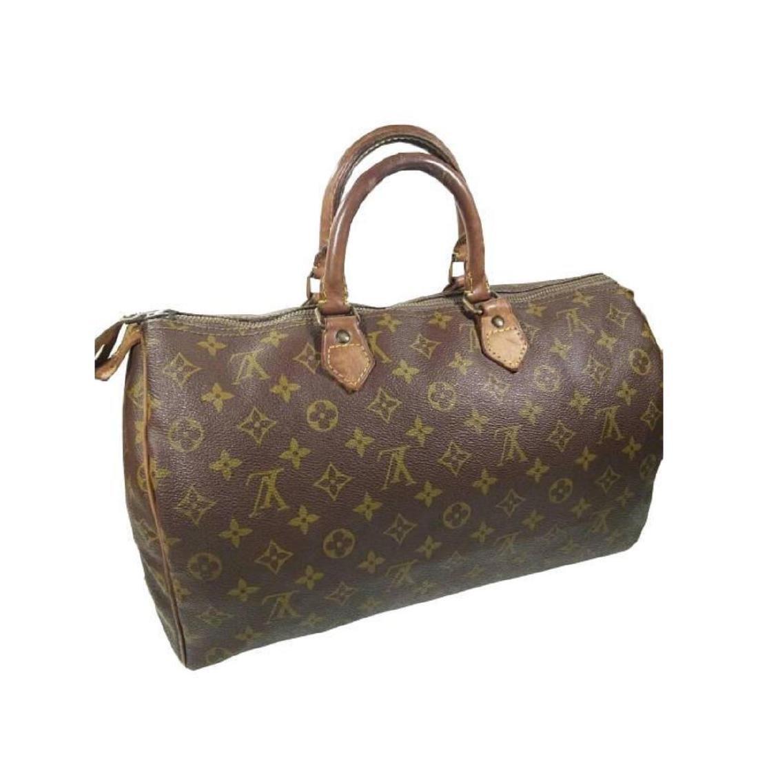 Auth Louis Vuitton Vintage Handbag Speedy 35 Monogram - 5