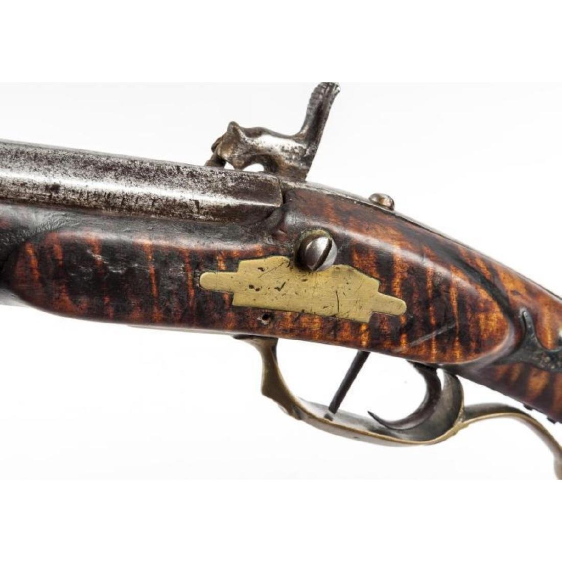 Unmarked Kentucky Percussion Rifle - 2