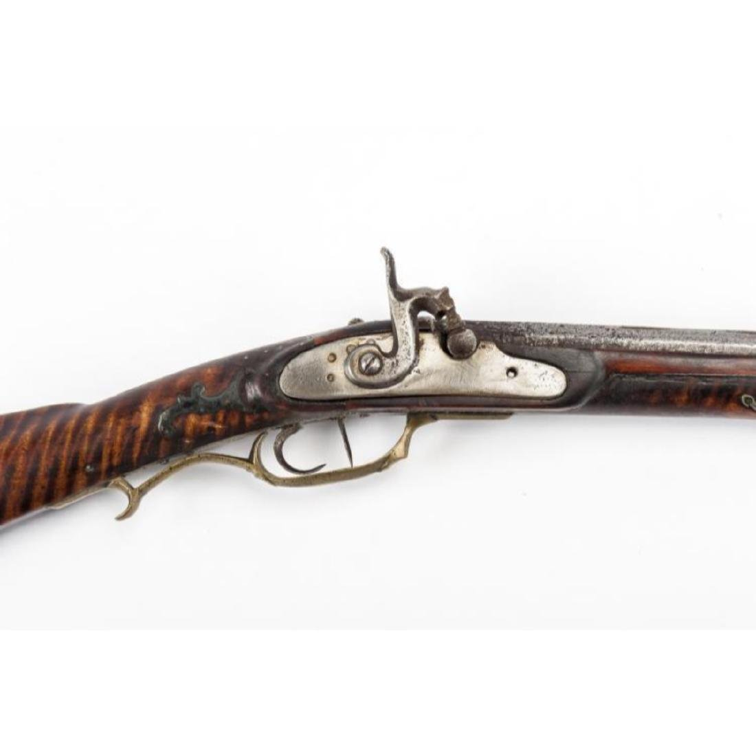 Unmarked Kentucky Percussion Rifle - 5
