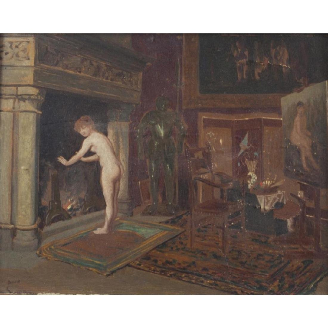 19thc French Parlor Scene - 2