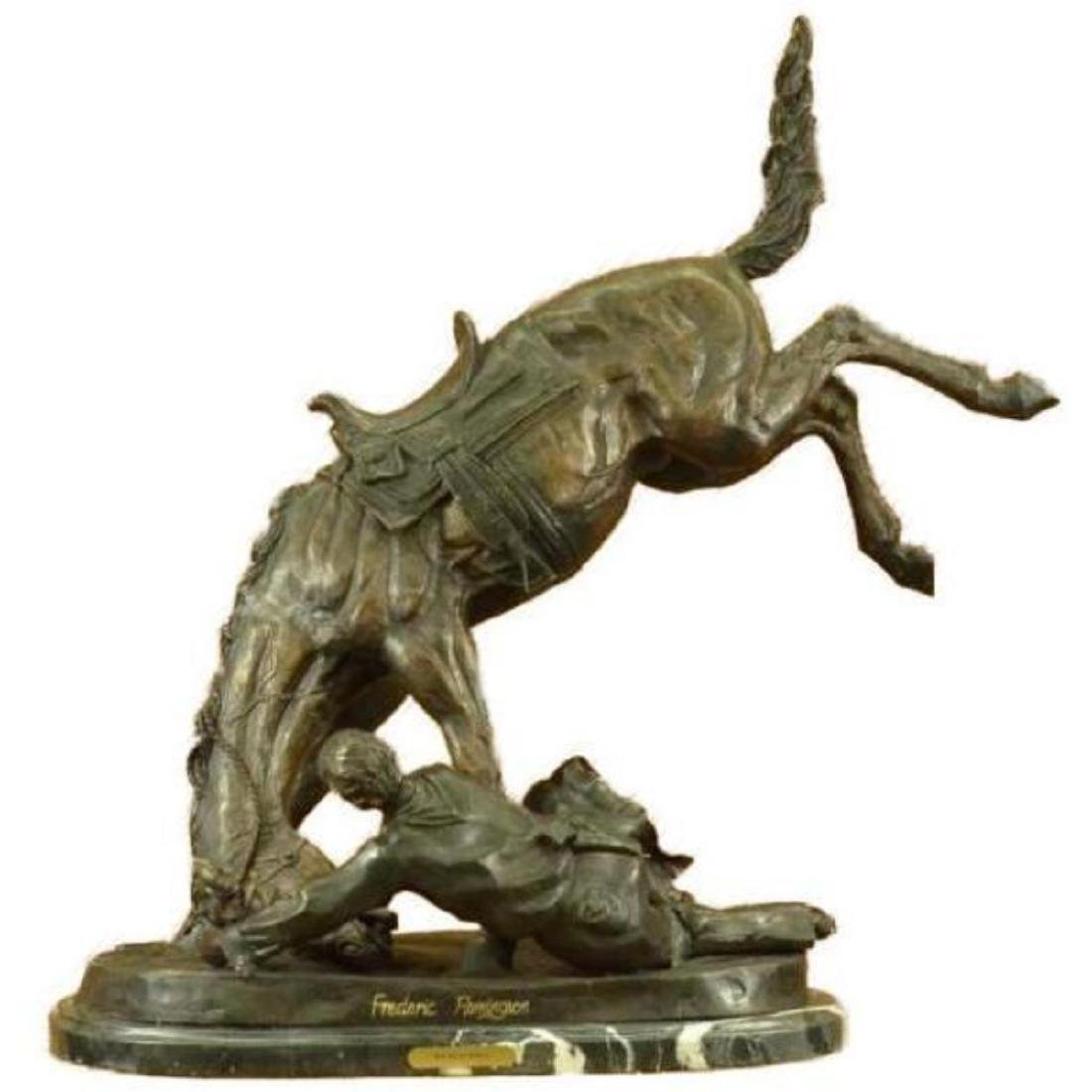 """Extra Large """"The Wicked Pony"""" by Remington Bronze - 2"""