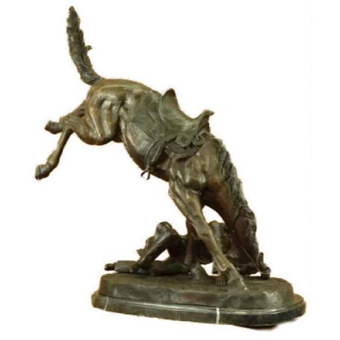 """Extra Large """"The Wicked Pony"""" by Remington Bronze - 6"""