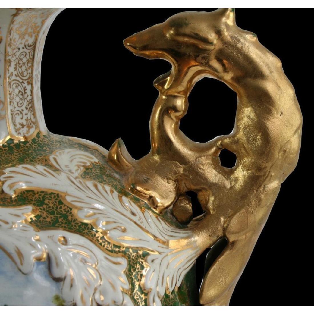 Monumental Portuguese Porcelain Urn - 2