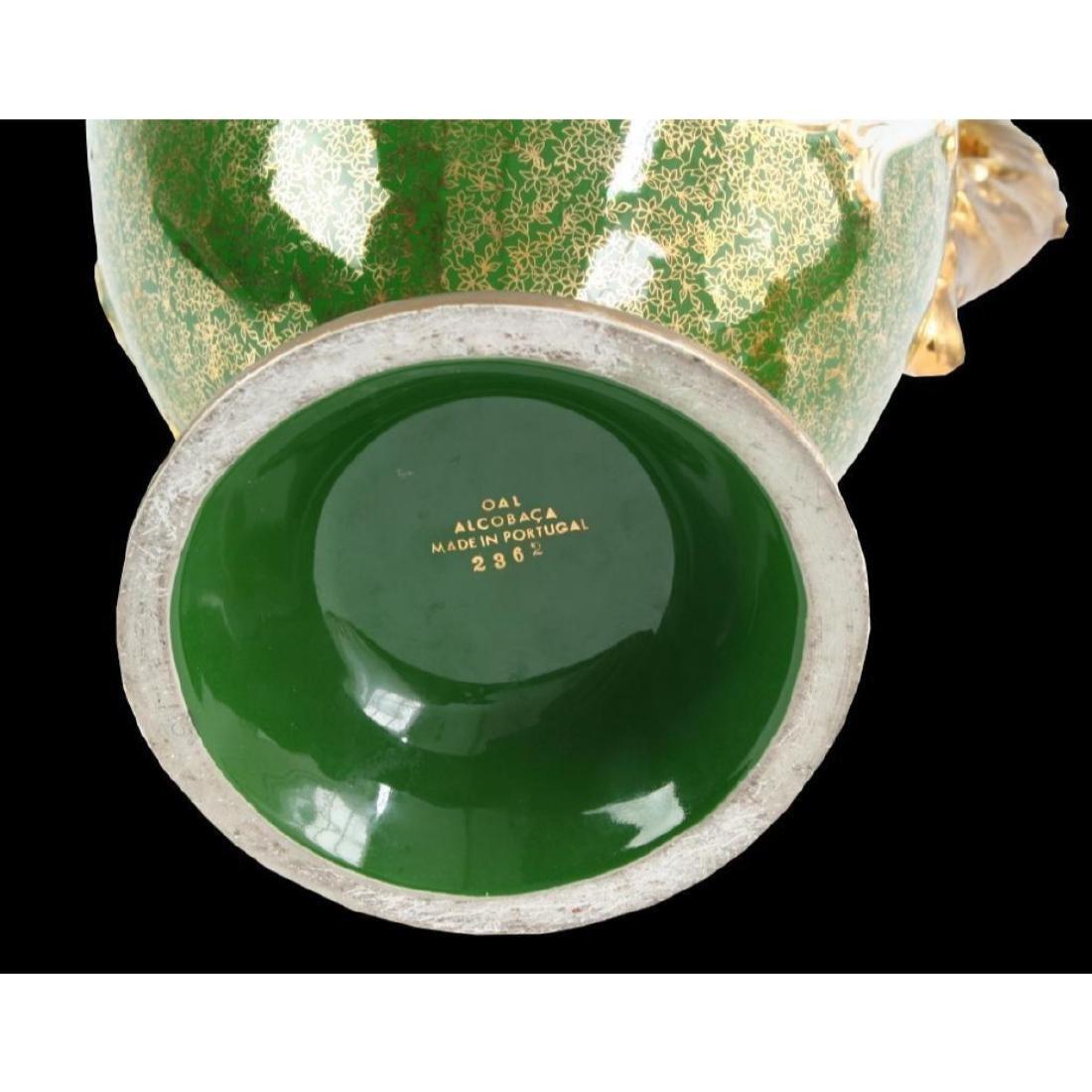 Monumental Portuguese Porcelain Urn - 3
