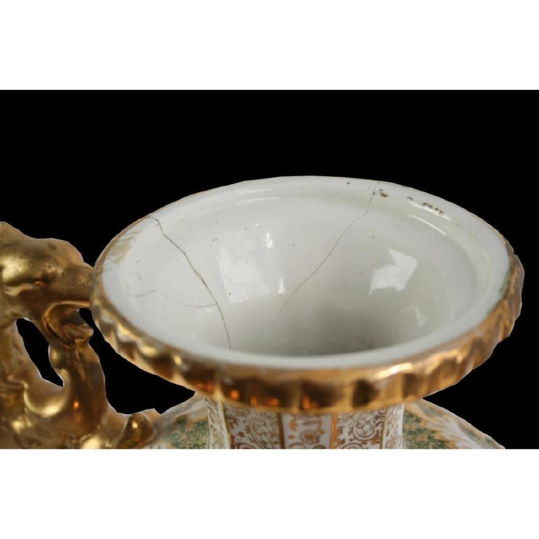 Monumental Portuguese Porcelain Urn - 4