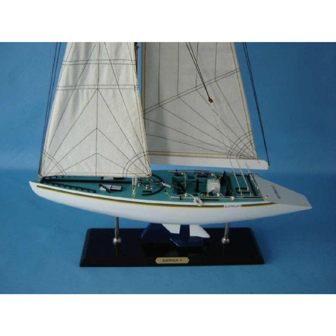 "Wooden Australia 2 Limited Model Yacht 40"" - 5"