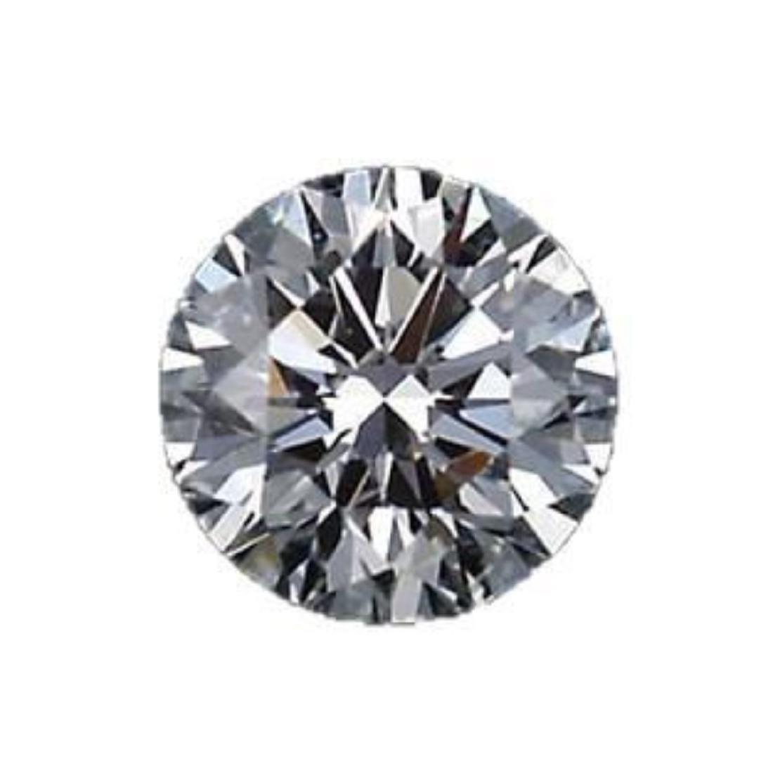 6ct Round Brilliant Cut BIANCO Diamond
