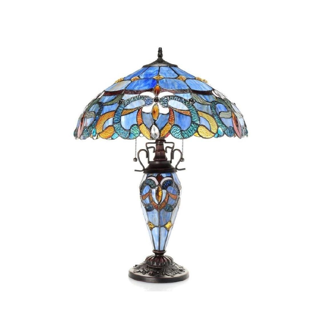 Tiffany-style Table Lamp - 2