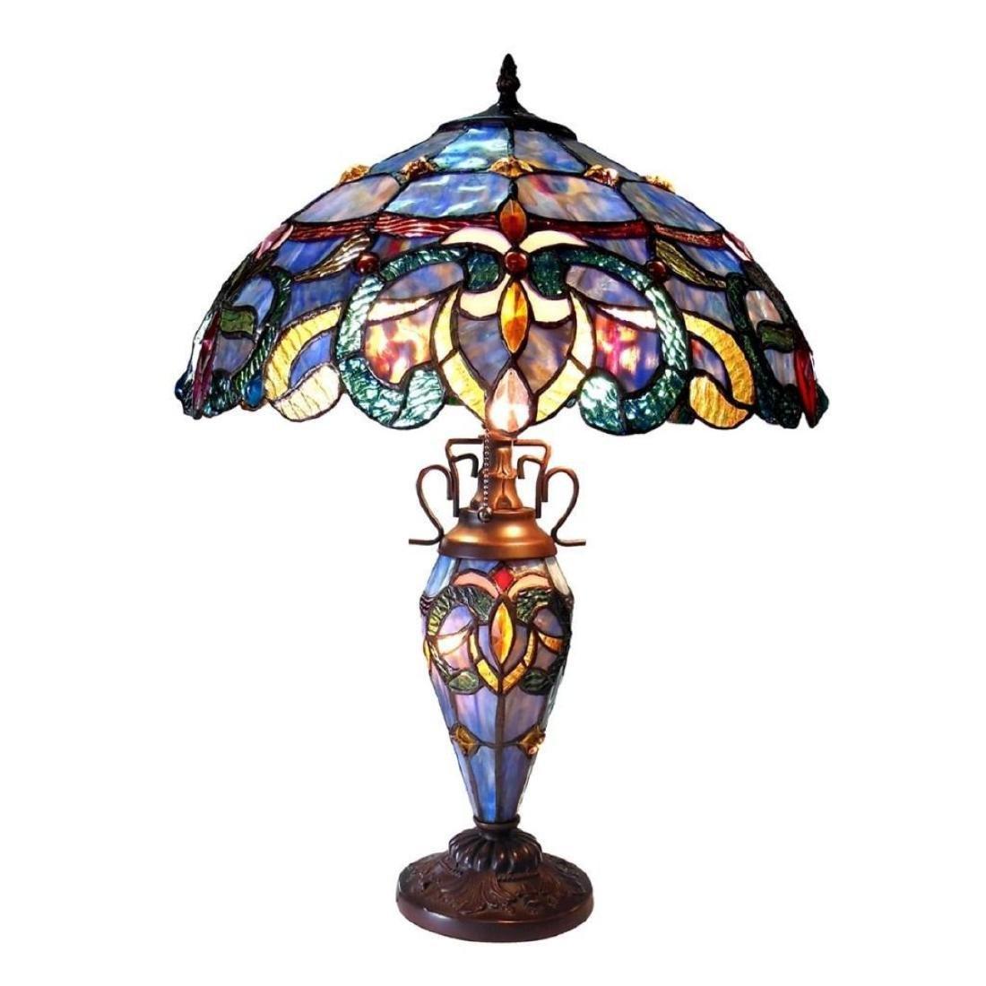 Tiffany-style Table Lamp - 3