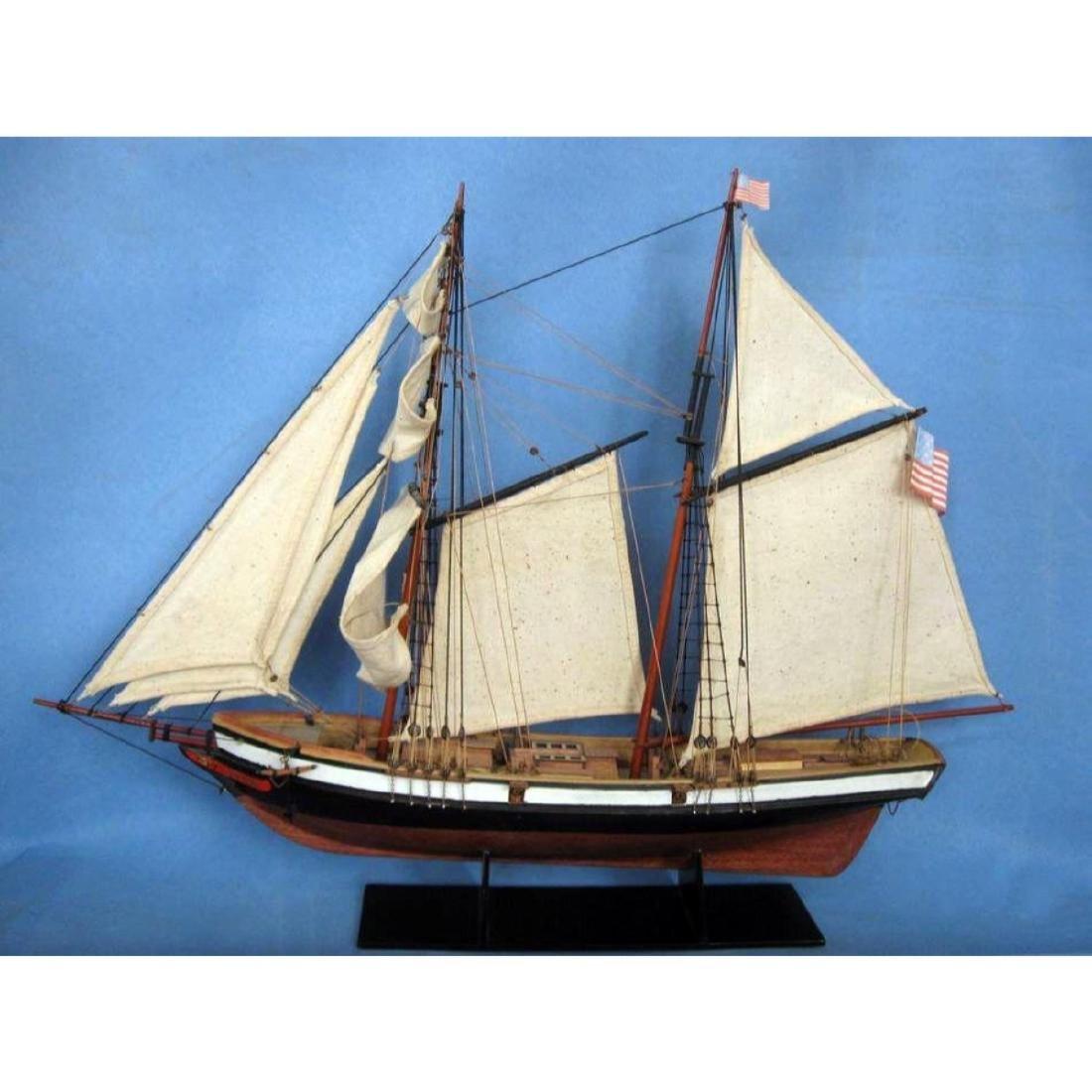 "Wooden Lynx Model Ship 24"" - 6"