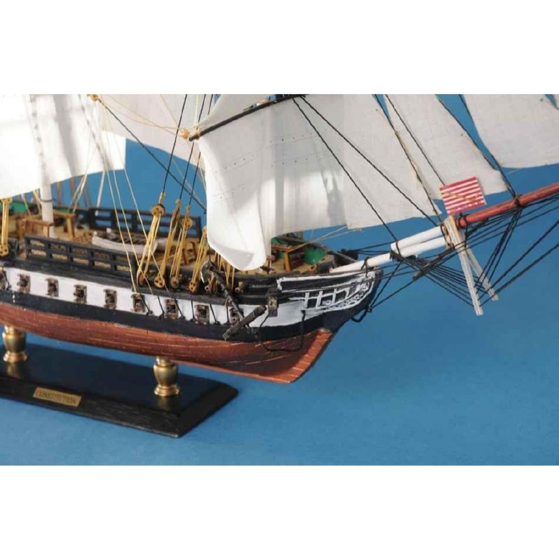 """USS Constitution Limited Tall Model Ship 20"""" - 3"""
