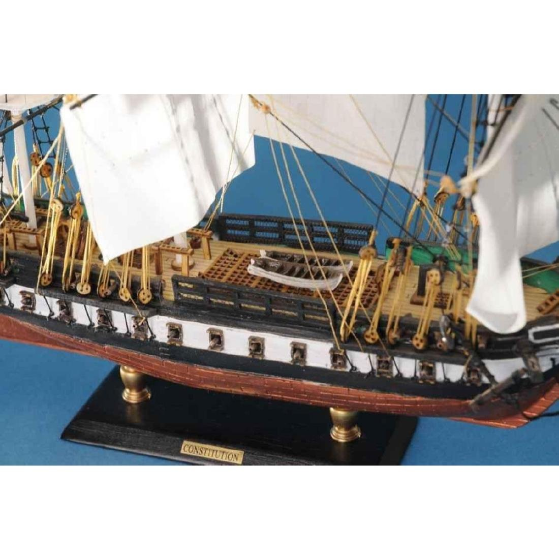 """USS Constitution Limited Tall Model Ship 20"""" - 4"""