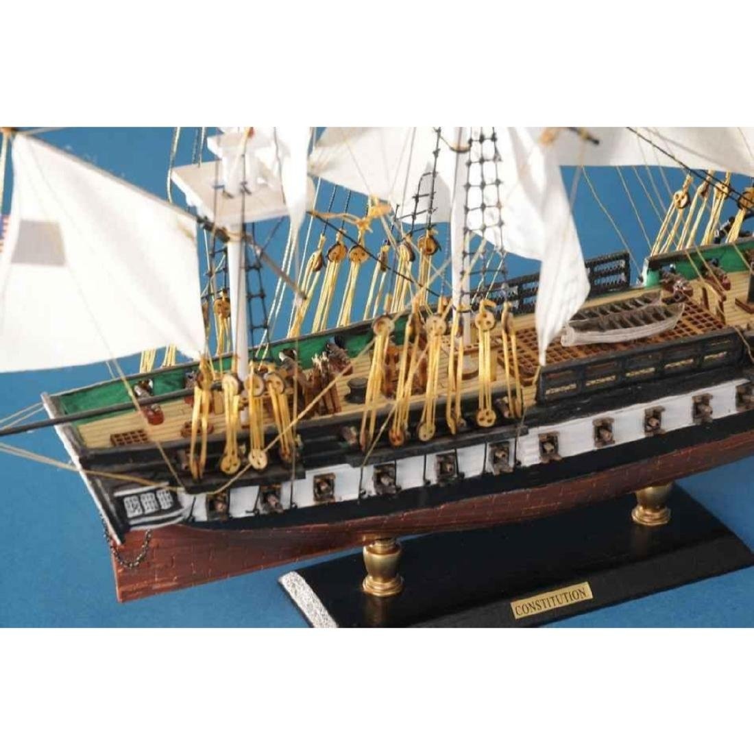 """USS Constitution Limited Tall Model Ship 20"""" - 5"""