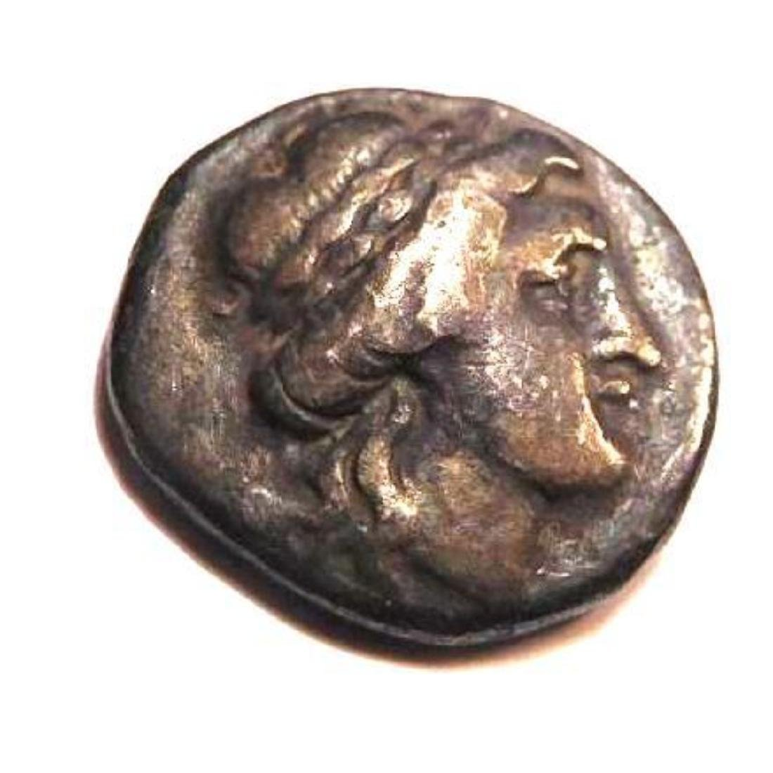 Silver Drachm; Thessaly; Thessalian League; 196-146 BC.