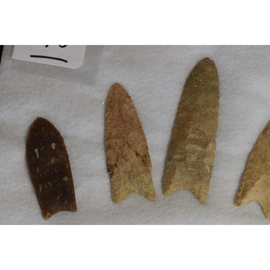 Grouping of Rare Prehistoric native American Clovis - 2