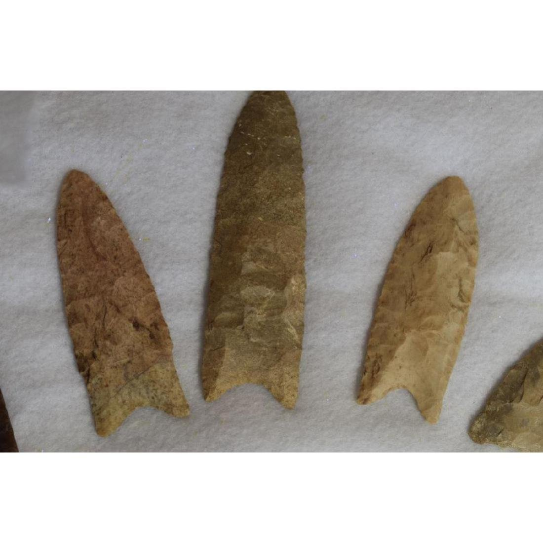 Grouping of Rare Prehistoric native American Clovis - 4