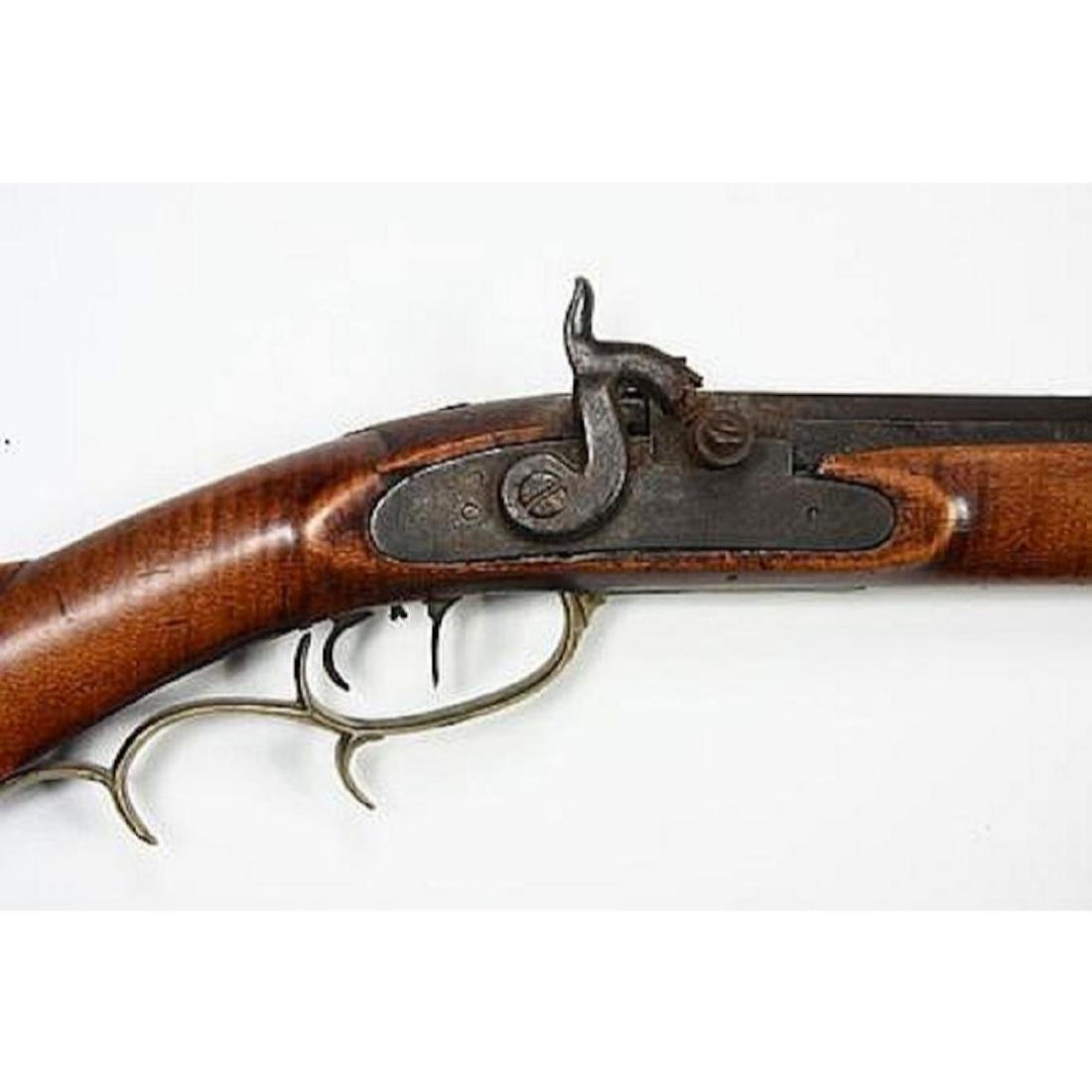Fine 1830's American Pennsylvania Long Rifle - 3