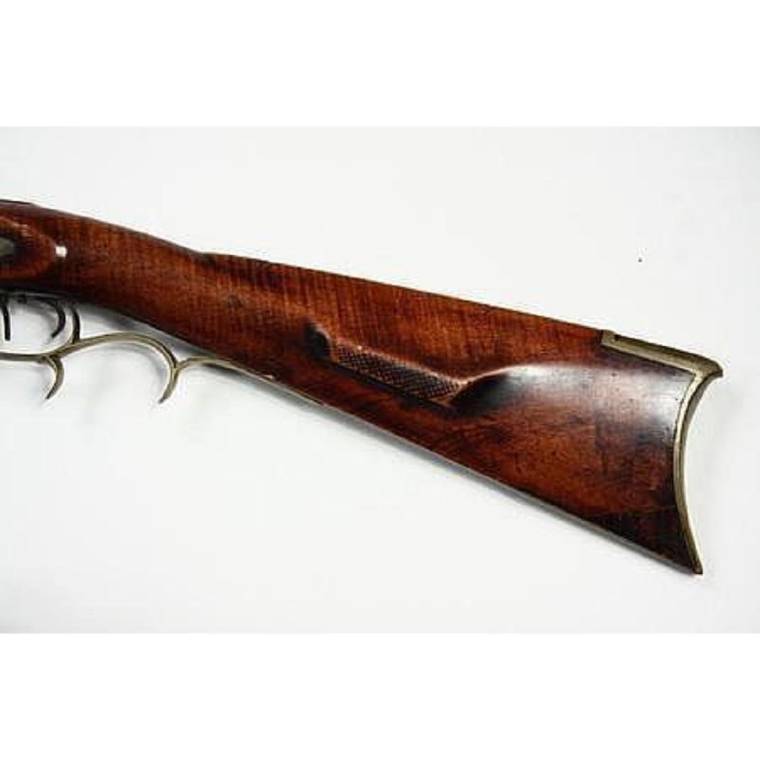 Fine 1830's American Pennsylvania Long Rifle - 4