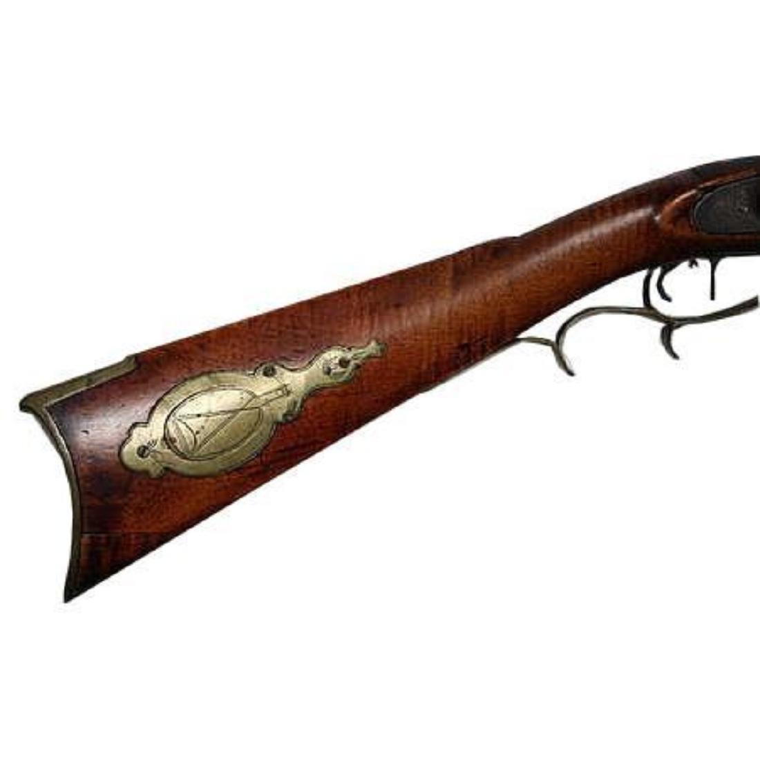 Fine 1830's American Pennsylvania Long Rifle - 5