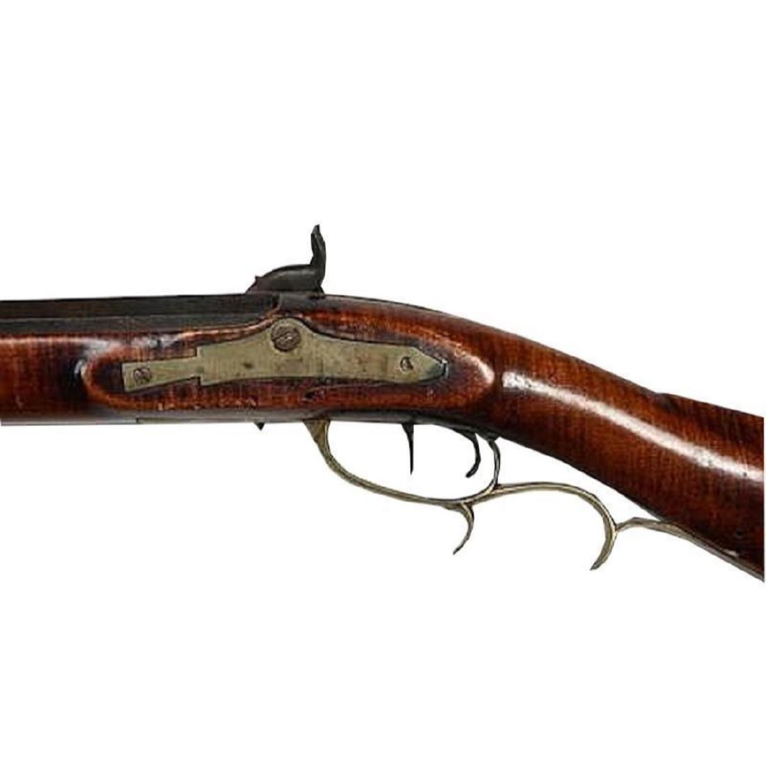Fine 1830's American Pennsylvania Long Rifle - 8