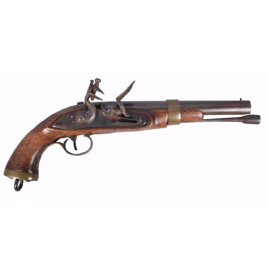 Belgian Flintlock .69 Caliber Pistol