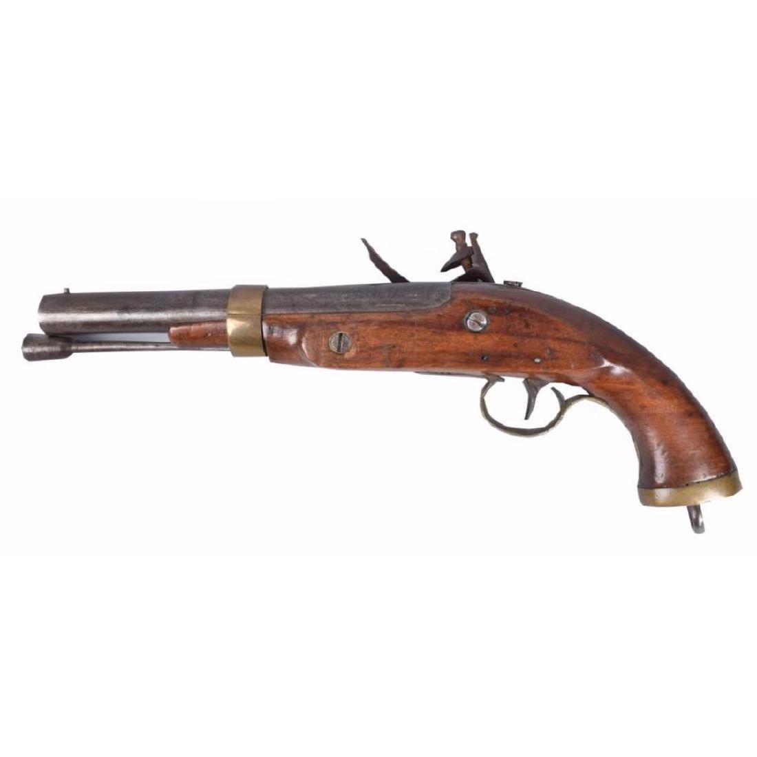 Belgian Flintlock .69 Caliber Pistol - 3