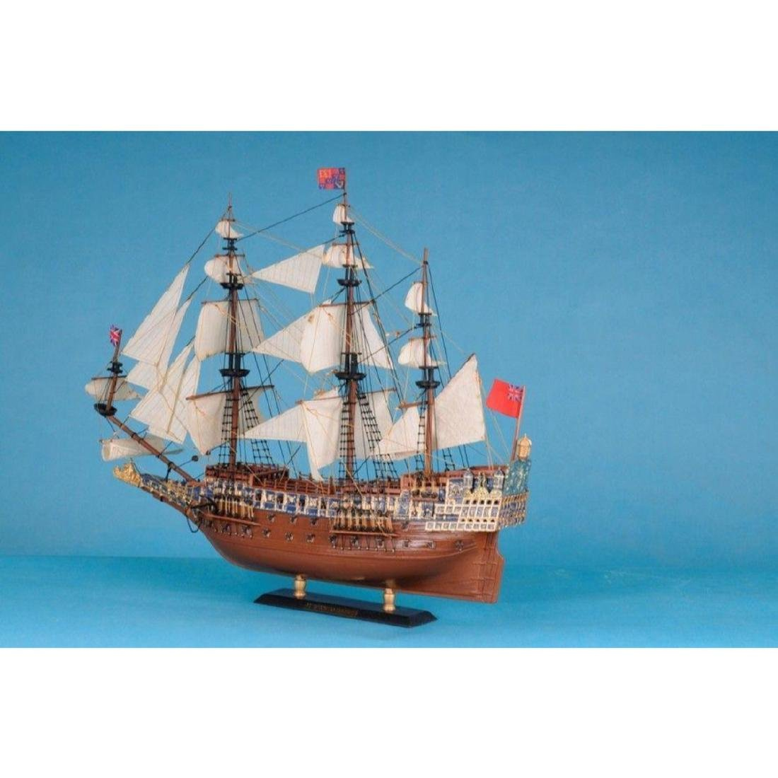 "Sovereign Of The Seas Limited Tall Model Ship 21"" - 10"