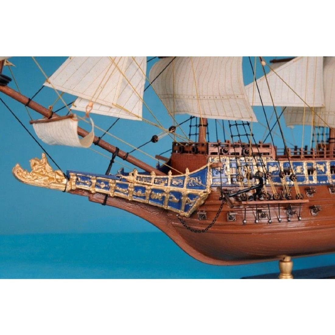 "Sovereign Of The Seas Limited Tall Model Ship 21"" - 4"