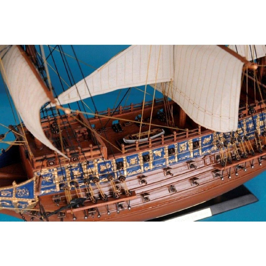 "Sovereign Of The Seas Limited Tall Model Ship 21"" - 5"