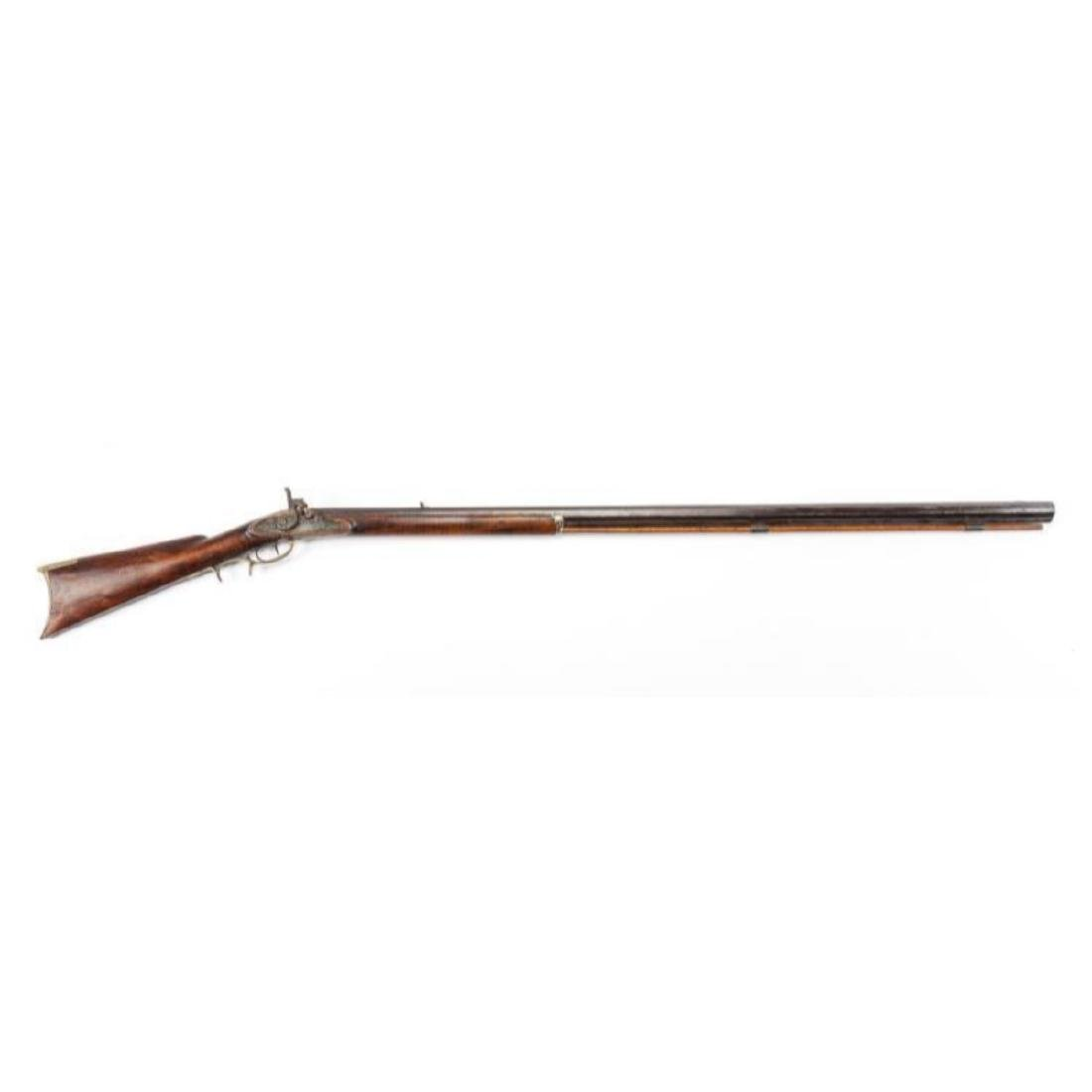 Unmarked 19th C Percussion Musket